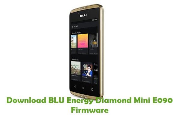 Download BLU Energy Diamond Mini E090 Firmware