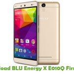 BLU Energy X E010Q Firmware