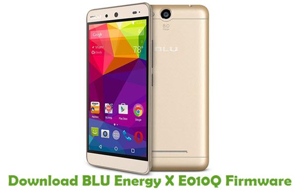 Download BLU Energy X E010Q Firmware