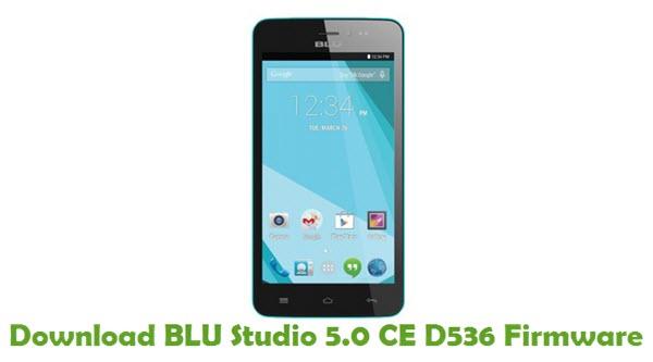 Download BLU Studio 5.0 CE D536 Firmware