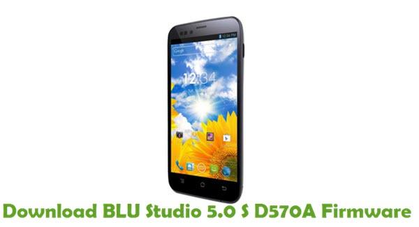 Download BLU Studio 5.0 S D570A Firmware