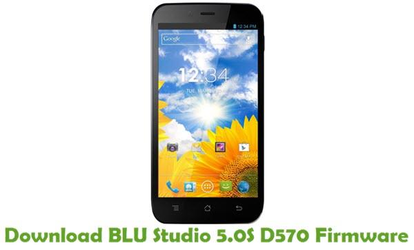 Download BLU Studio 5.0S D570 Firmware
