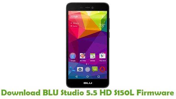 Download BLU Studio 5.5 HD S150L Firmware