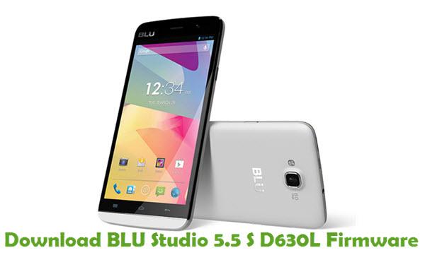 Download BLU Studio 5.5 S D630L Firmware