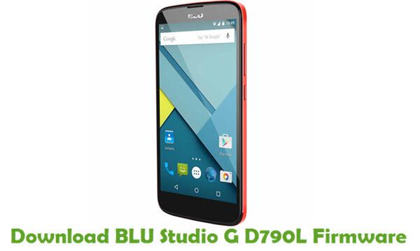 Download BLU Studio G D790L Firmware