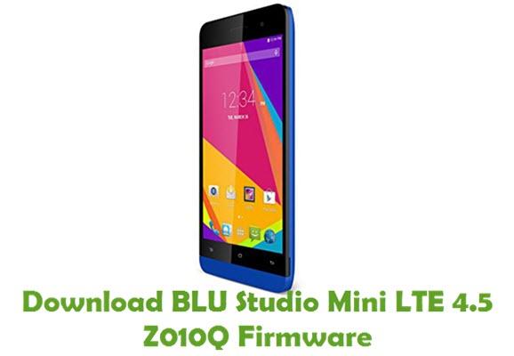 Download BLU Studio Mini LTE 4.5 Z010Q Firmware