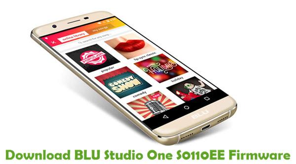 Download BLU Studio One S0110EE Firmware