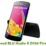 BLU Studio X D750 Firmware