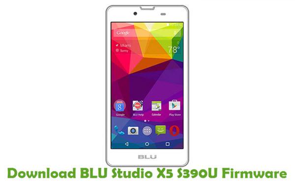 Download BLU Studio X5 S390U Firmware