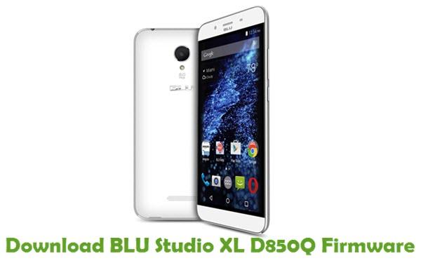 Download BLU Studio XL D850Q Firmware
