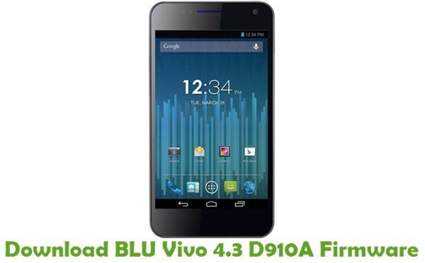 Download BLU Vivo 4.3 D910A Firmware