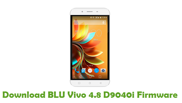 Download BLU Vivo 4.8 D9040i Firmware