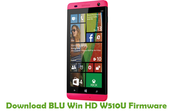 Download BLU Win HD W510U Firmware