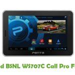 BSNL WS707C Call Pro Firmware