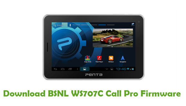 Download BSNL WS707C Call Pro Firmware