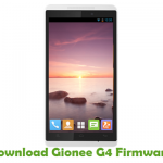 Gionee G4 Firmware