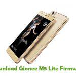 Gionee M5 Lite Firmware