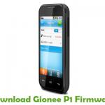 Gionee P1 Firmware