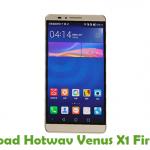 Hotwav Venus X1 Firmware