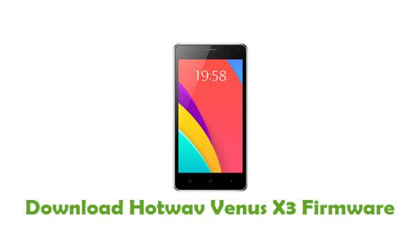 Download Hotwav Venus X3 Firmware