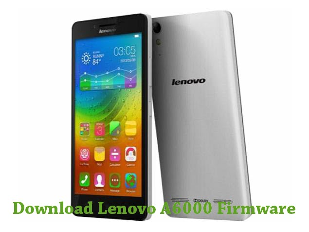 Download Lenovo A6000 Stock ROM