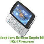 Sony Ericsson Xperia Mini Pro SK17i Firmware