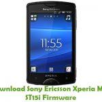 Sony Ericsson Xperia Mini ST15i Firmware
