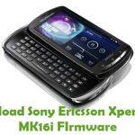 Sony Ericsson Xperia Pro MK16i Firmware