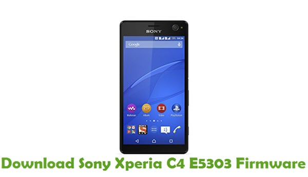 Download Sony Xperia C4 E5303 Firmware