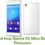 Sony Xperia C5 Ultra Dual E5563 Firmware