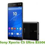 Sony Xperia C5 Ultra E5506 Firmware