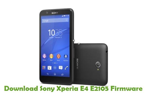 Download Sony Xperia E4 E2105 Firmware