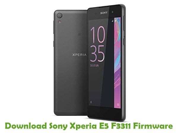 Download Sony Xperia E5 F3311 Firmware
