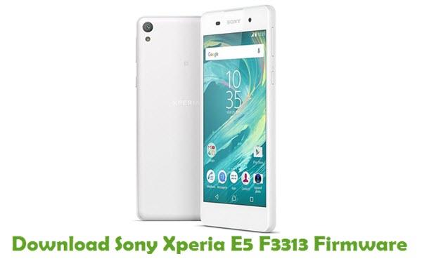 Download Sony Xperia E5 F3313 Firmware