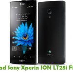 Sony Xperia ION LT28i Firmware