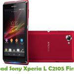Sony Xperia L C2105 Firmware