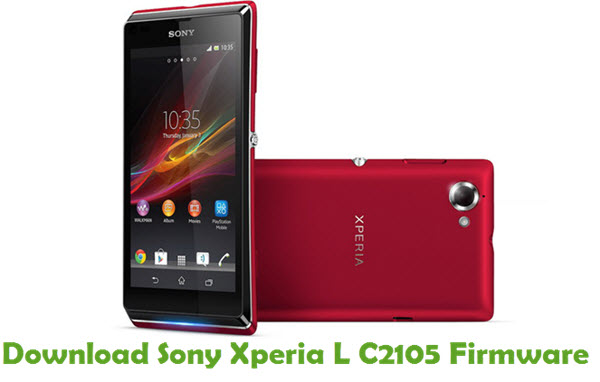 Download Sony Xperia L C2105 Firmware