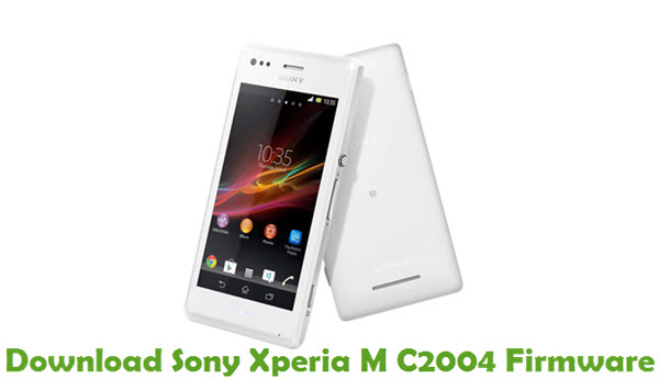 Download Sony Xperia M C2004 Firmware