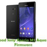 Sony Xperia M2 Aqua D2403 Firmware