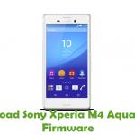 Sony Xperia M4 Aqua E2303 Firmware