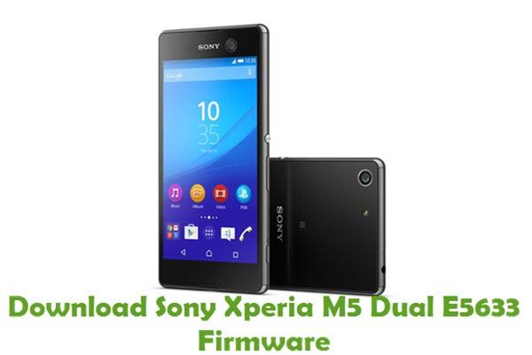 Download Sony Xperia M5 Dual E5633 Firmware