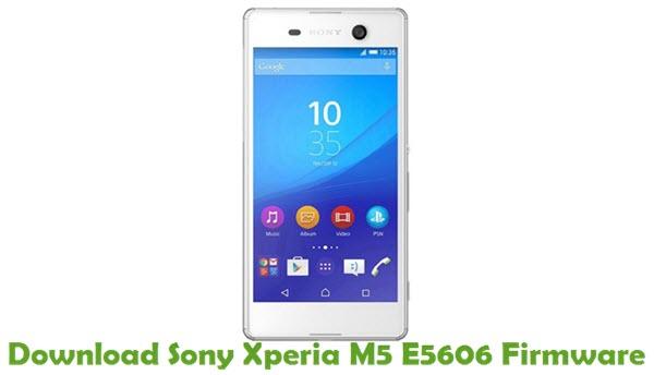 Download Sony Xperia M5 E5606 Firmware