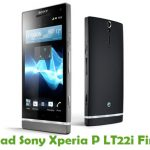 Sony Xperia P LT22i Firmware