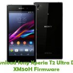 Sony Xperia T2 Ultra Dual XM50H Firmware