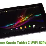 Sony Xperia Tablet Z WiFi SGP311 Firmware