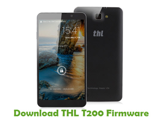 Download THL T200 Firmware