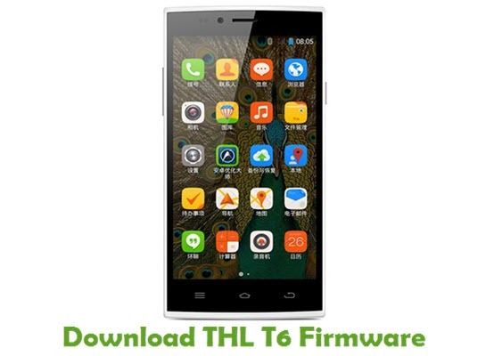 Download THL T6 Firmware