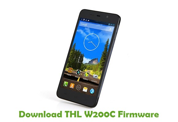 Download THL W200C Firmware