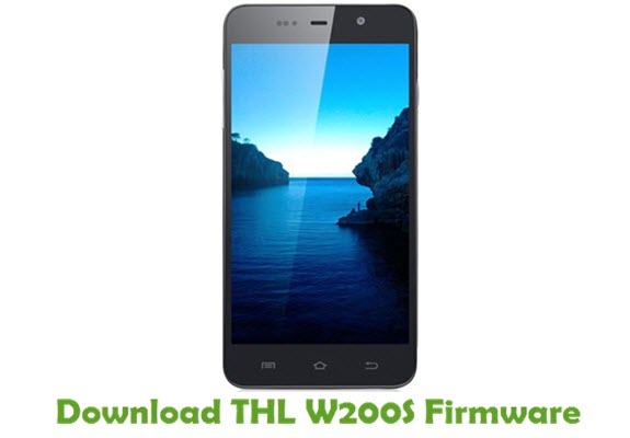 Download THL W200S Firmware