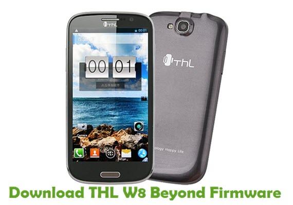 Download THL W8 Beyond Firmware